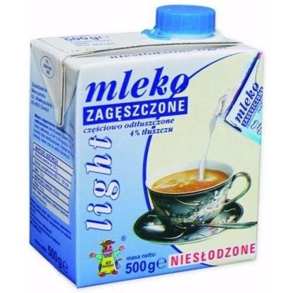 Mleko GOSTYŃ 4% zageszczone niesłodzone LIGHT 500g, gnk0460235
