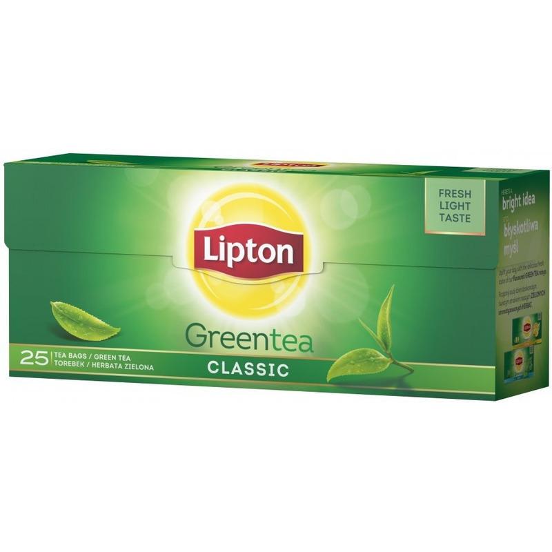Herbata LIPTON GREEN CLASSIC 25 torebek, ghk0220248