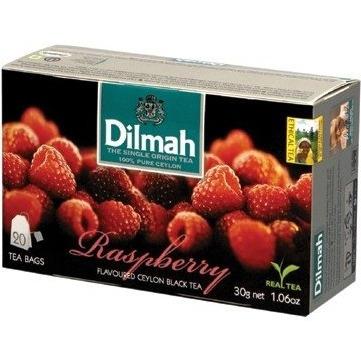 Herbata DILMAH ARONAT MALINY (20 saszetek) 85041 czarna, ghk0090219