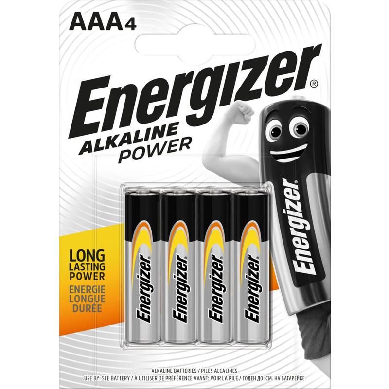 Bateria alkaliczna ENERGIZER INTELLIGENT LR03/AAA (4szt), bak0010272