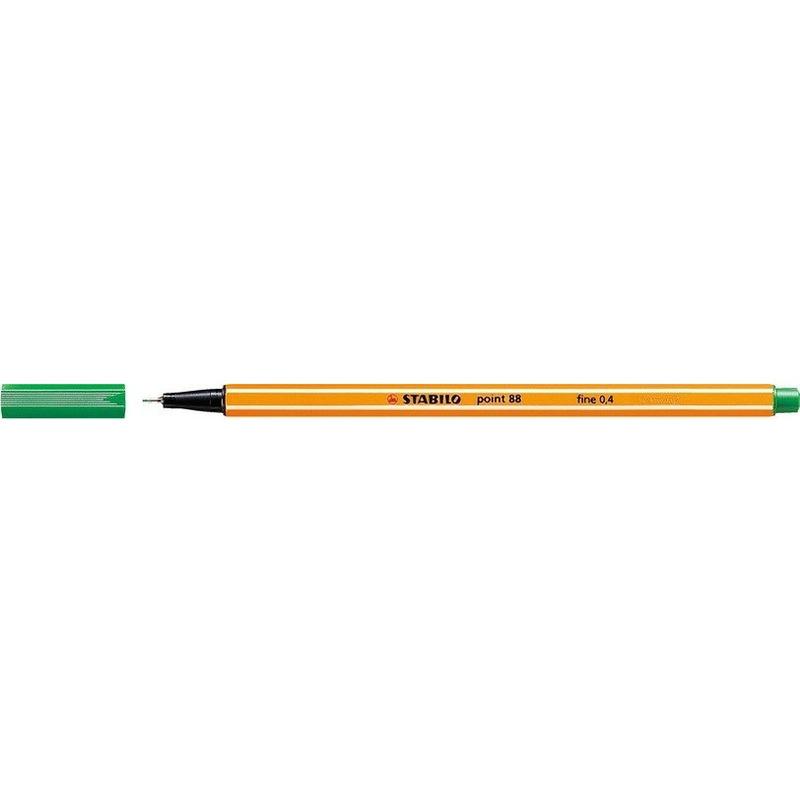 Cienkopis STABILO point 88/36 0.4mm zielony, cik0340245