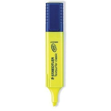Zakreślacz TOPSTAR żółty 364-1 STAEDTLER, zak0050022