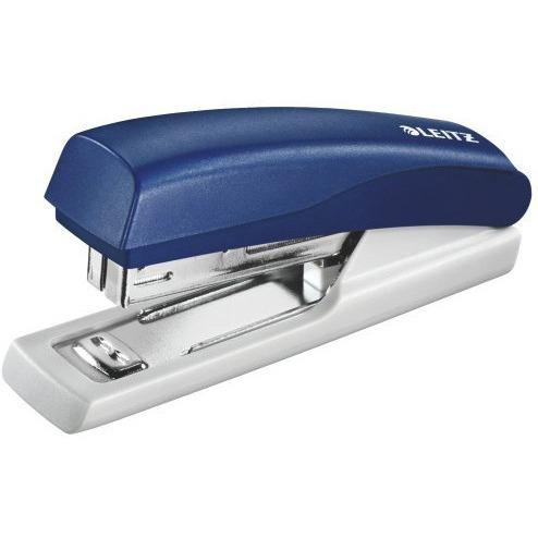 Zszywacz mini LEITZ niebieski 10 kartek 55170035, zsk0030187