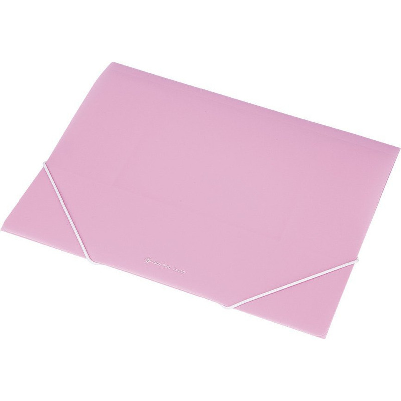 Teczka A4 z gumką EX4302 różowa transparentna 0410-0034-05/13PantaPla, tek7120226.