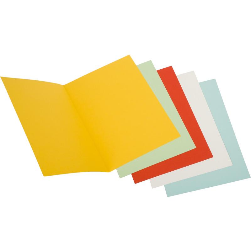 Okładka na dokumenty DATURA A4 230g żółta (5szt), okk0793088D