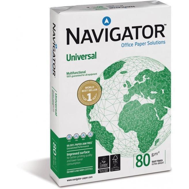 Papier xero A3 NAVIGATOR UNIVERSAL klasa A+ premium, ppk0300221