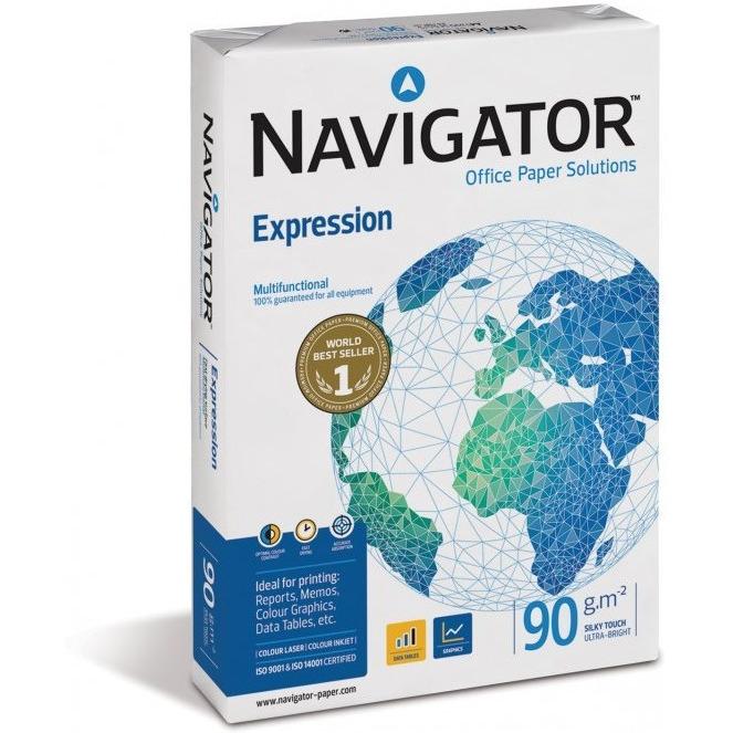 Papier xero A4 90g NAVIGATOR Expression, ppk1960221