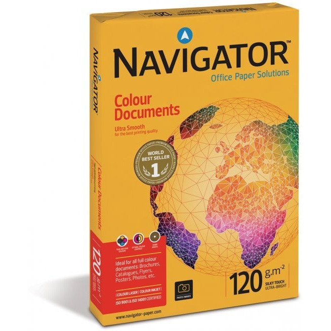 Papier xero A4 120g NAVIGATOR Colour Documents, ppk1980221