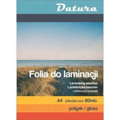 Folia do laminacji A4 80mic DATURA/NATUNA, OKK9000341D