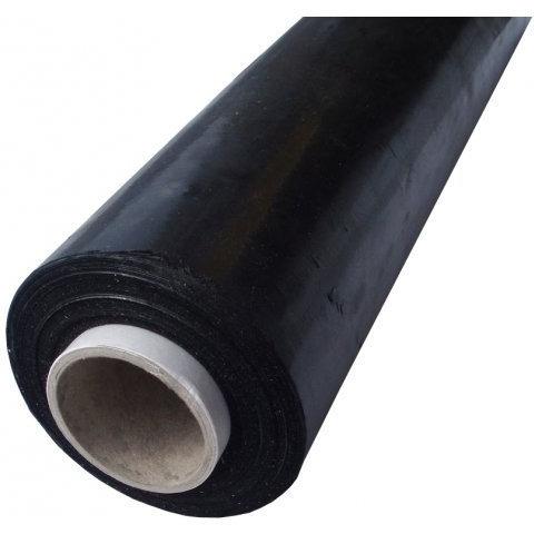 Folia stretch NATUNA 1,5kg 23mic czarna rozciągliwość 170%, FOK0930270D
