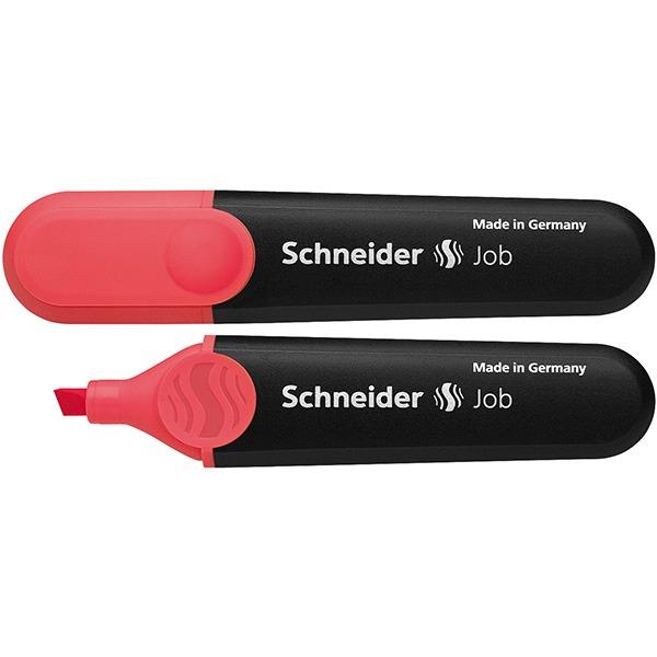Zakreślacz SCHNEIDER Job, 1-5 mm, czerwony, SR1502