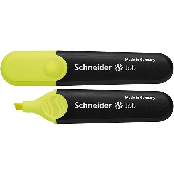 Zakreślacz SCHNEIDER Job, 1-5 mm, żółty, SR1505