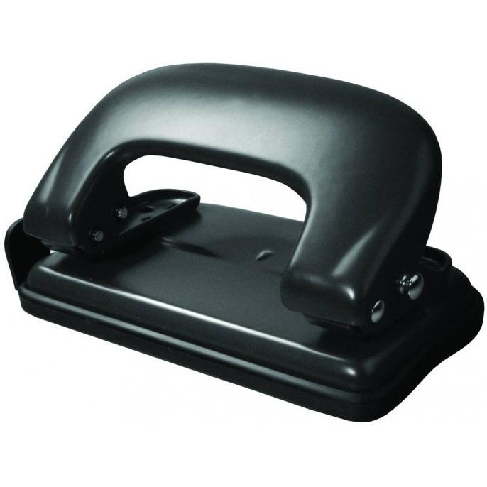 Dziurkacz metalowy 10k. czarny GD008-AV TETIS, DZK2940258