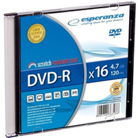 DVD-R ESPERANZA 4, 7GB X16 - SLIM 1