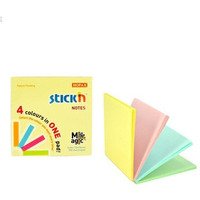 Notes samoprzylepny MAGIC PAD 76X76mm pastel mix (12) STICK´N