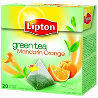 H.PIRAMID LIPTON GREEN TEA MANDARIN ORANGE 20